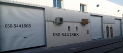 roller/rolling shutters in ajman from SAHARA DOORS & METALS LLC