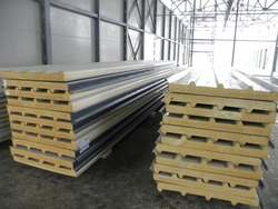 Sandwich Panel In Abu Dhabi from GHOSH METAL INDUSTRIES LLC