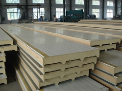 PU From Sandwich Panel In Abu Dhabi from GHOSH METAL INDUSTRIES LLC