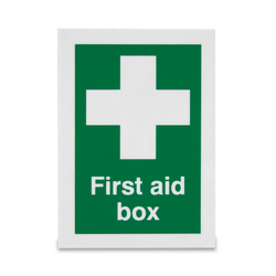 Sign 'First Aid Box' from ARASCA MEDICAL EQUIPMENT TRADING LLC