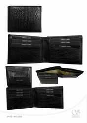 LEATHER WALLET from SALONY INTERNATIONAL LLC