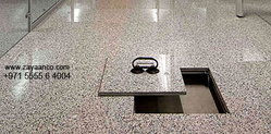 Marble Finish Raised Access Flooring Contracor in Dubai, UAE from ZAYAANCO