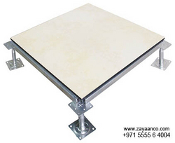 Ceramic Finish Raised Access Flooring Specialist in Sharjah, UAE from ZAYAANCO