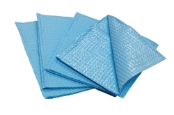 Dental Bibs Blue, 2 ply from AVENSIA GENERAL TRADING LLC