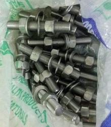 Super Duplex Stud with nuts & washer from TIMES STEELS