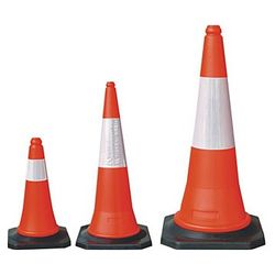 SAFETY CONE 1MTR  from EXCEL TRADING COMPANY - L L C
