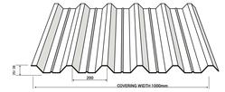 G.I. Profile Sheet 35/200 from BURHANI OASIS ENTERPRISE LLC