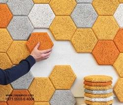 Hexagonal Interlock Manufacturer in Dubai UAE from ZAYAANCO