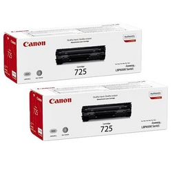 Canon 725 Black  from AVENSIA GENERAL TRADING LLC