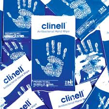 clinell antibacterial hand wipes from AVENSIA GENERAL TRADING LLC
