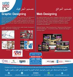 WEB DESIGNING from THREE ZERO INC