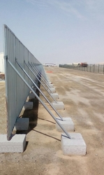 Concrete Fencing Blocks supplier in Sharjah-UAE from DUCON BUILDING MATERIALS LLC