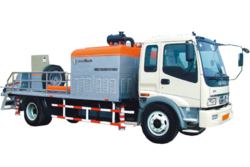Boomtech Truck-mounted Line Concrete Pump Dubai from HOUSE OF EQUIPMENT LLC