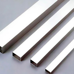 Stainless Steel Squared Polished Pipes