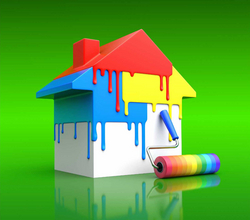Indoor paint  from HOMEWARDS TECHNICAL SERVICES LLC