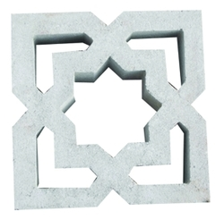 Claustra block supplier in Dubai from ALCON CONCRETE PRODUCTS FACTORY LLC