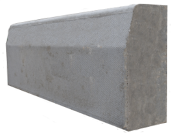 Concrete kerbstone supplier in Ajman from ALCON CONCRETE PRODUCTS FACTORY LLC