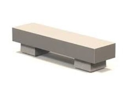 Concrete bench supplier in Saudi Arabia from ALCON CONCRETE PRODUCTS FACTORY LLC