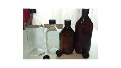 Winchester / Boston Glass Bottles .amber & Clear