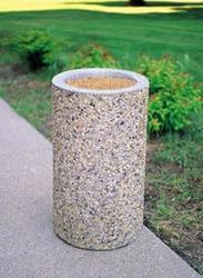 Concrete litter bin supplier in Dubai from ALCON CONCRETE PRODUCTS FACTORY LLC