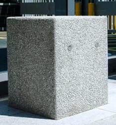 Concrete litter bin supplier in Ajman from ALCON CONCRETE PRODUCTS FACTORY LLC