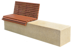 Concrete bench manufacturer in UAE from ALCON CONCRETE PRODUCTS FACTORY LLC