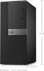 Dell OptiPlex 7040 Desktop - Intel Core i7-6700, 500GB, 4GB, DOS from DSR TECH COMPUTER TRADING LLC