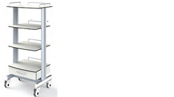Endoscopy Trolley in Dubai from KREND MEDICAL EQUIPMENT TRADING LLC