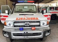 Ambulance Toyota Land Cruiser VDJ 78 Diesel Engine from DAZZLE UAE