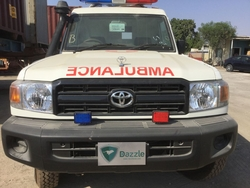 Ambulance Toyota Landcruiser Hard Top GRJ78 from DAZZLE UAE
