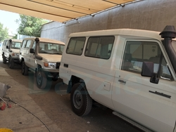 New Cars Toyota Land Cruiser GRJ 78 from DAZZLE UAE