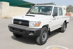New Cars Toyota Land Cruiser Double Cabin Pick up VDJ 78L  from DAZZLE UAE