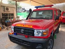 Brand New Toyota Land Cruiser GRJ&78 Ambulance from DAZZLE UAE