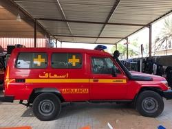 Brand new Ambulance Toyota from DAZZLE UAE