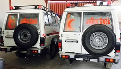Toyota Land Cruiser Ambulance  from DAZZLE UAE
