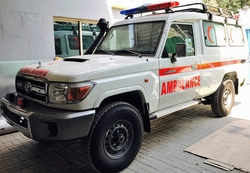 Ambulance UAE from DAZZLE UAE