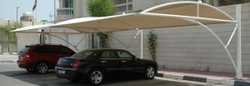 CAR PARK SHADES SUPPLIERS IN ABU DHABI from AL AMEERA TENTS & SHADES
