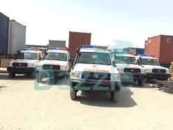 Ambulance Toyota Land Cruiser VDJ78  from DAZZLE UAE