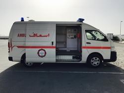 Toyota Hiace High Roof Ambulance from DAZZLE UAE