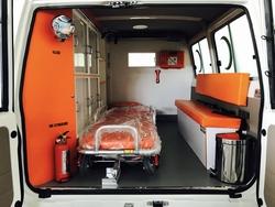VDJ78 Ambulance Toyota from DAZZLE UAE