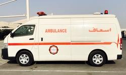Toyota Hiace Ambulance from DAZZLE UAE