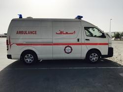 Toyota Hiace Diesel Ambulance from DAZZLE UAE