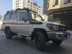 Emergency Ambulance Toyota from DAZZLE UAE