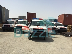 Manufacturer Ambulance Toyota from DAZZLE UAE