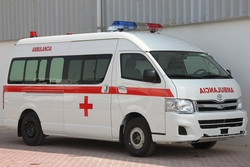 Hiace Toyota  Ambulance UAE from DAZZLE UAE