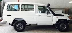 Brand new Toyota Land Cruiaer Hardtop from DAZZLE UAE