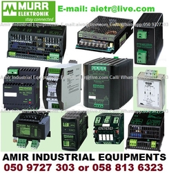 MURR ELEKTRONIK Switching Power Supply AC DC Power supply Rectifier Controller Distributor Dealer Supplier in UAE Dubai Abu Dhabi Sharjah Ajman RAK UAQ Gulf from AMIR INDUSTRIAL EQUIPMENTS