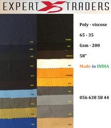 Poly-Viscose Fabrics Supplier In Abudhabi