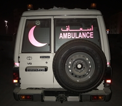 VDJ78 Toyota Ambulance UAE from DAZZLE UAE