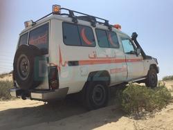 Brand New Ambulance Toyota Land Ceuiser  from DAZZLE UAE